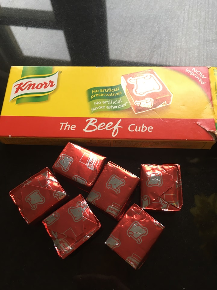 6x need stock cubes