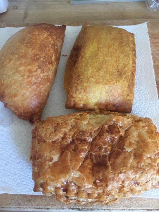 Savoury pastries