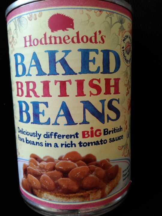 Hodmedods baked British beans - 3 tins
