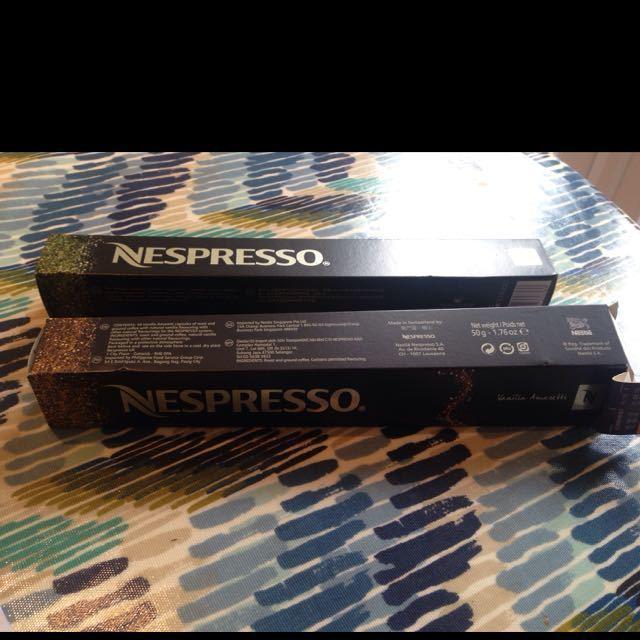 Nespresso pods.