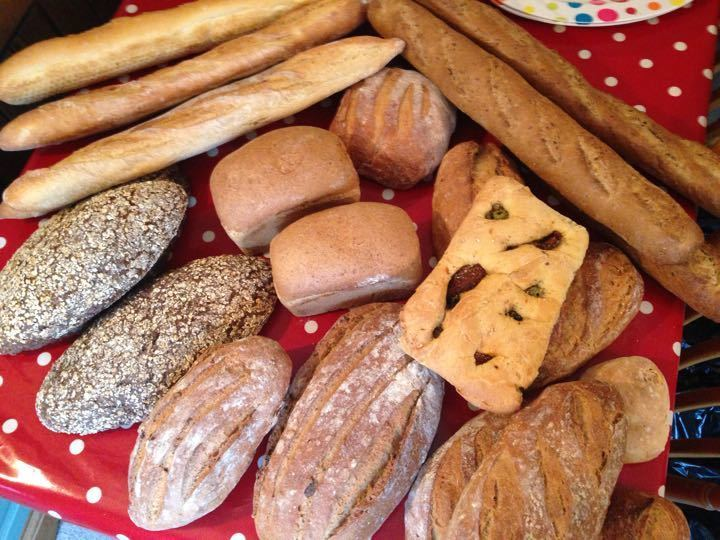 Bread, fresh today ( Saturday)