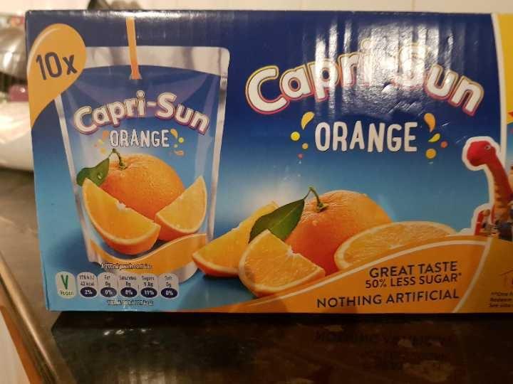 11 Capri Sun orange