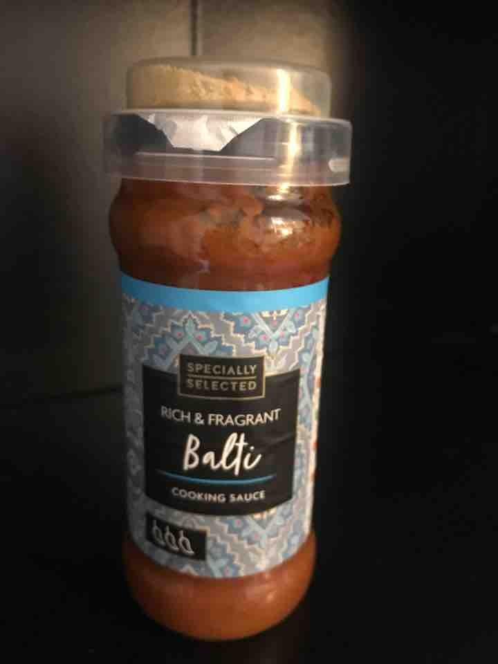 Balti cooking sauce