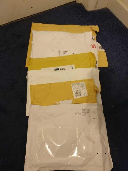 Assortment of Used Padded Envelopes
