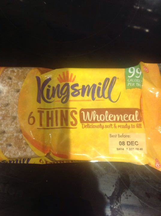 Kingsmill wholemeal thins