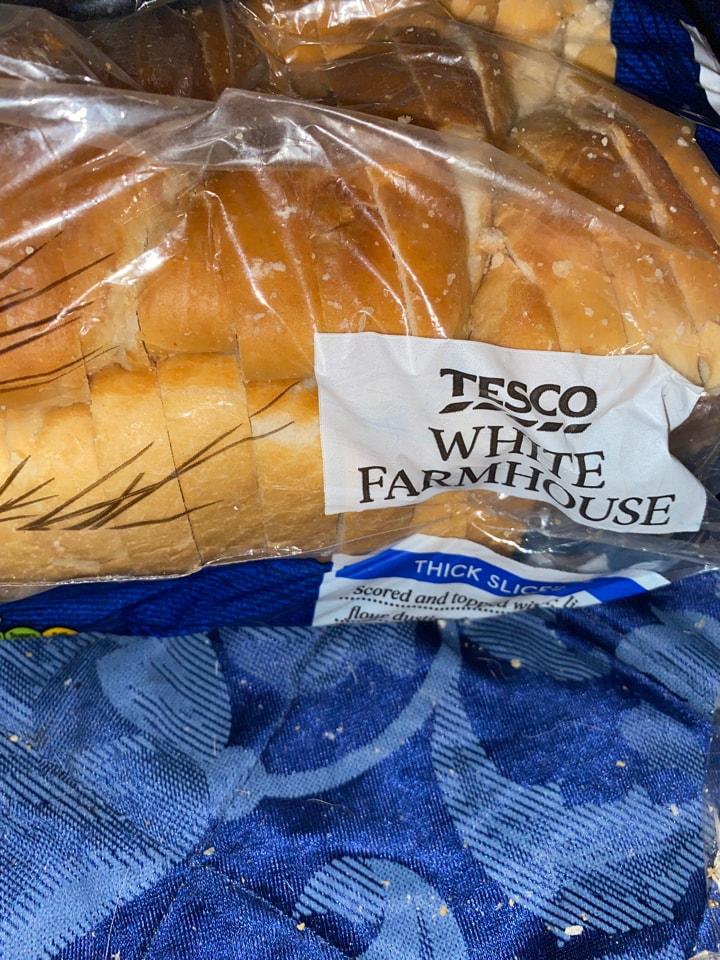 Tesco farmhouse white bread