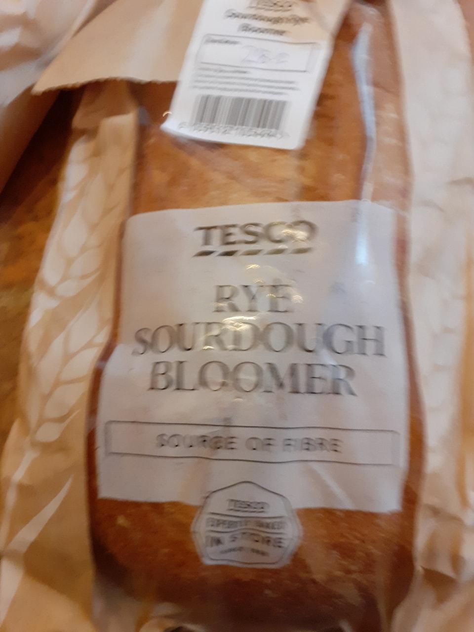Rye sourdough bloomer
