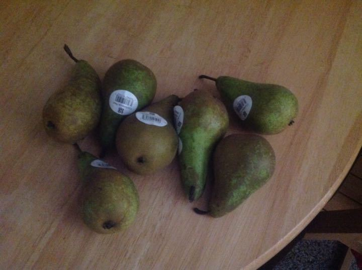 Pears perfect to eat