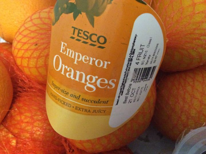 Emperor oranges