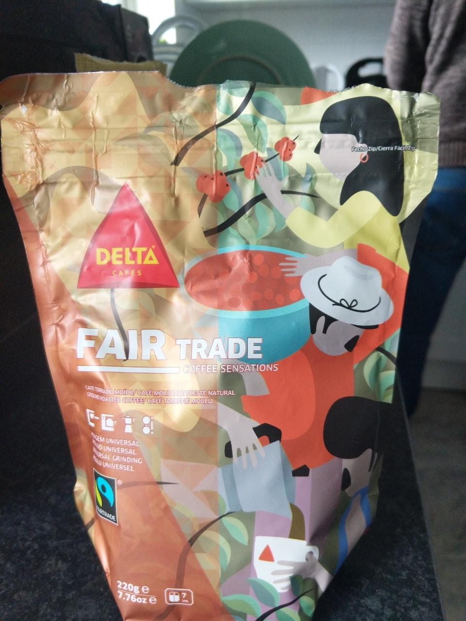 Portuguese fair trade coffee (universal grinding)