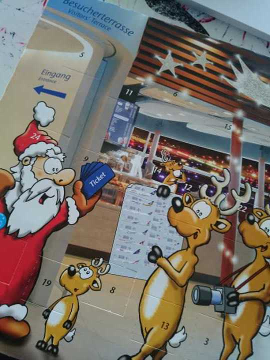 Chocolate Christmas Calendar