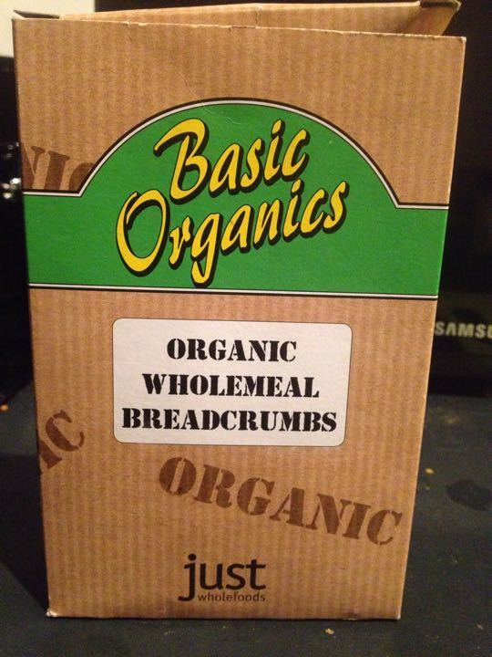 Organic breadcrumbs