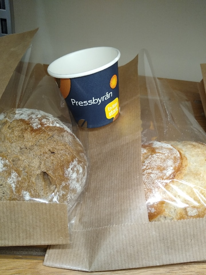 3 x various breads