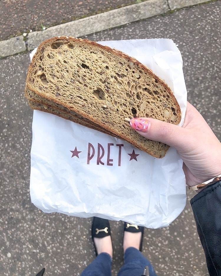 Pret's Gluten Free Bread x2 Slices