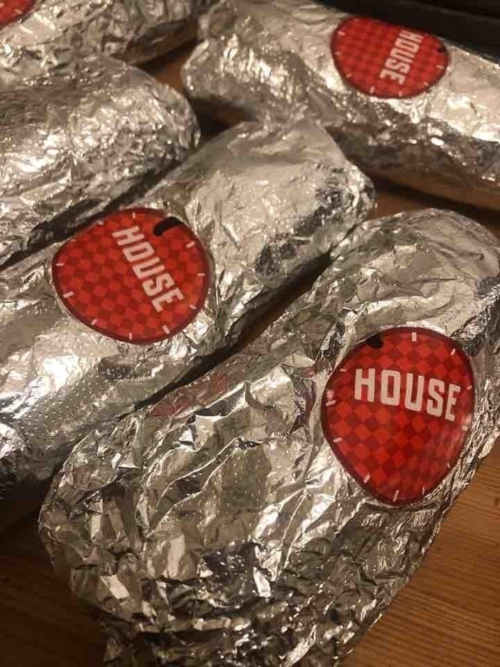 Friska meaty house wraps