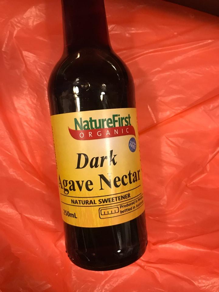 Dark agave syrup
