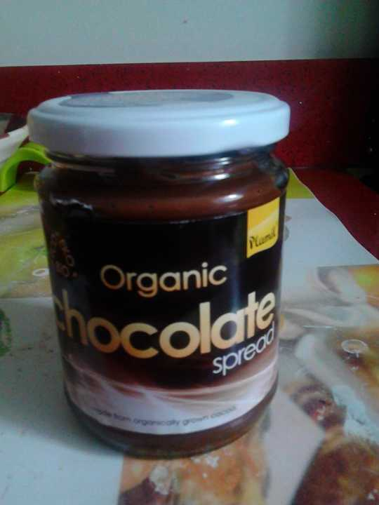 organic chocolate spread_ plamil brand