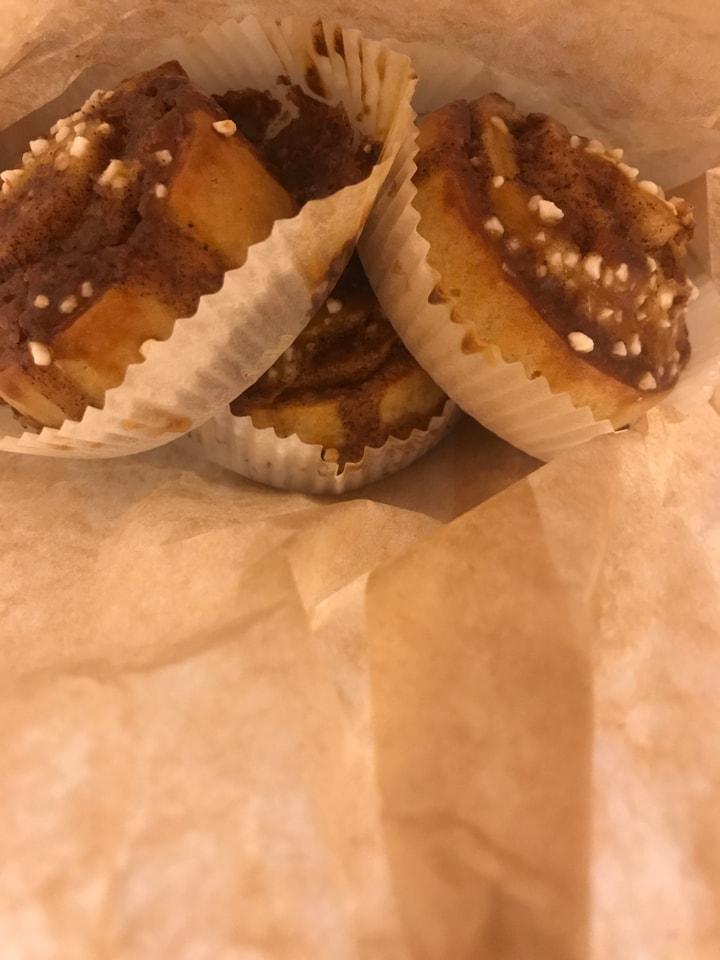Fresh glutenfri kanelbullar from Happy Atelier (09/10)