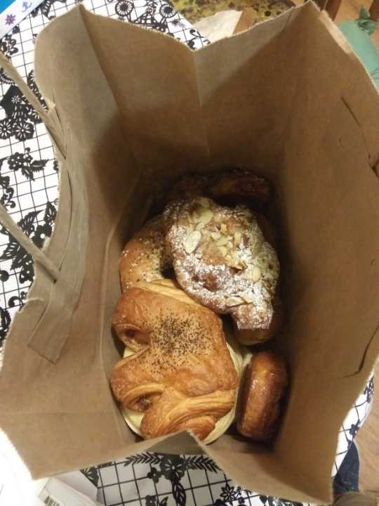 Pastries and bagels
