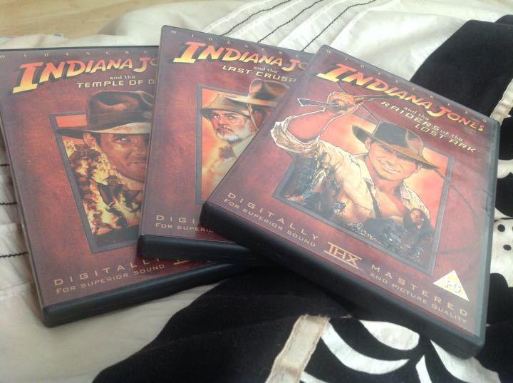 Indiana Jones Dvds