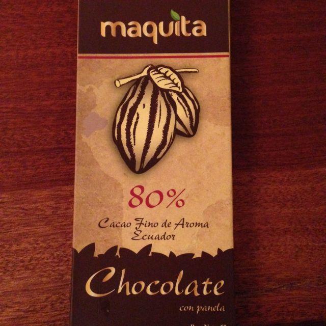 Dark chocolate 80%