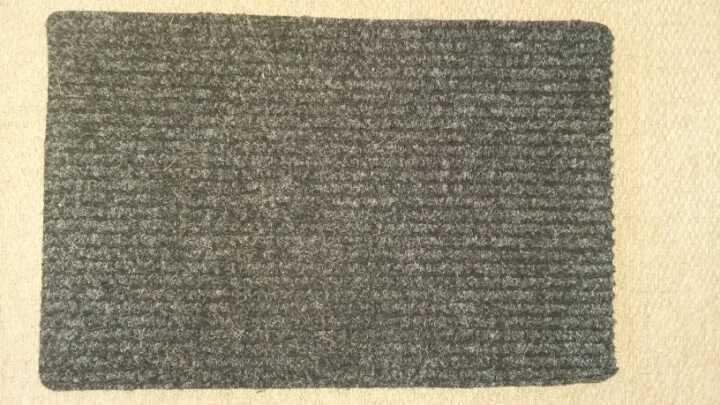 Navy doormat