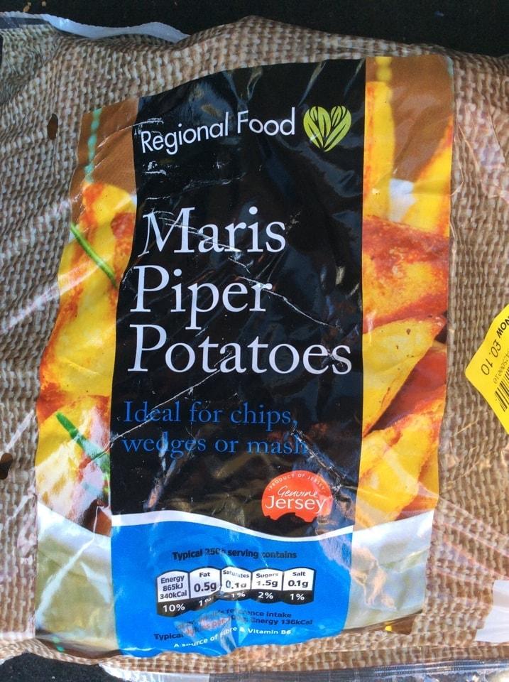 Maris piper potatoes