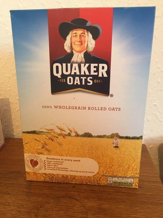 Quaker Oats Wholegrain Rolled Oats