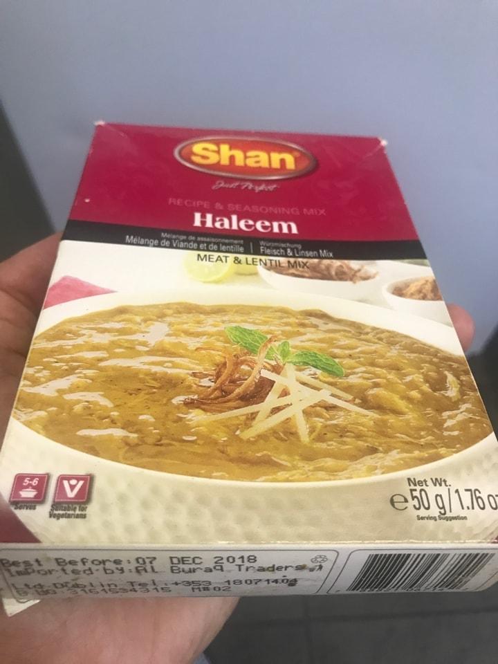 Shan Haleem spice mix