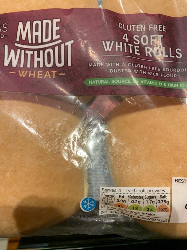 Gluten Free Soft White Rolls