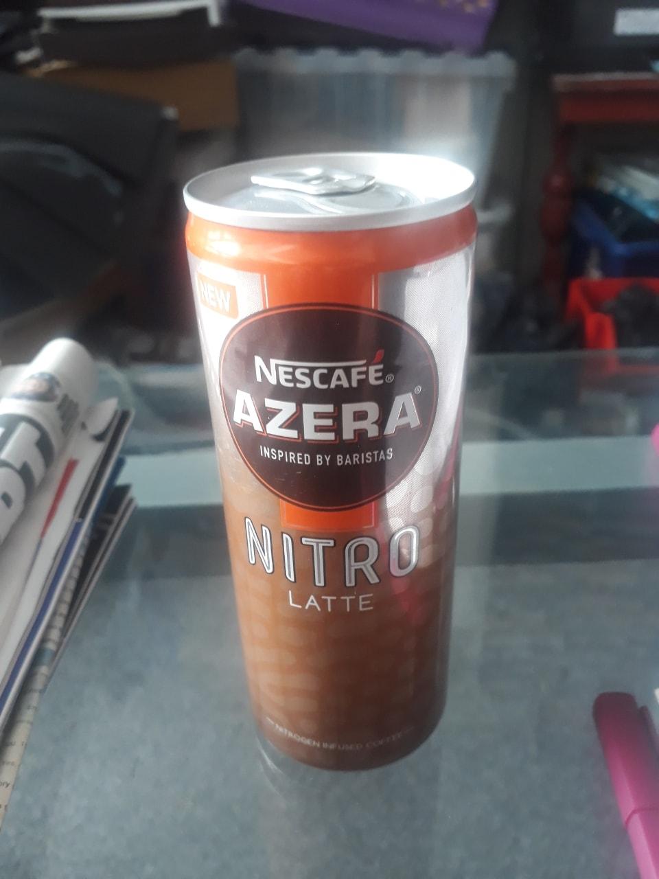 Nestle Azera Nitro Latte