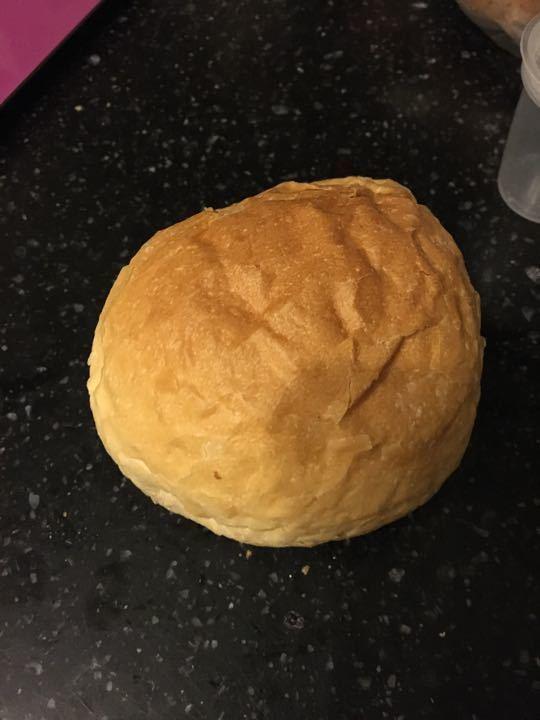 Small white crispy roll