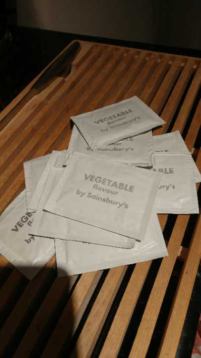 Vegetable flavour sachets (10)