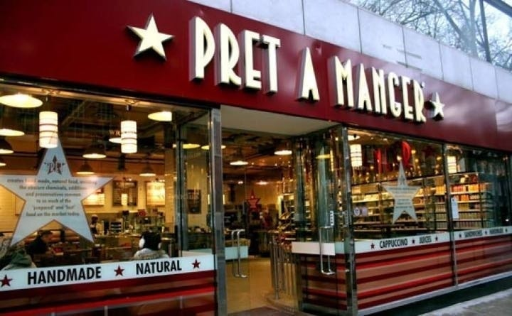 Rescued Pret food THURSDAY  .... Moss side!