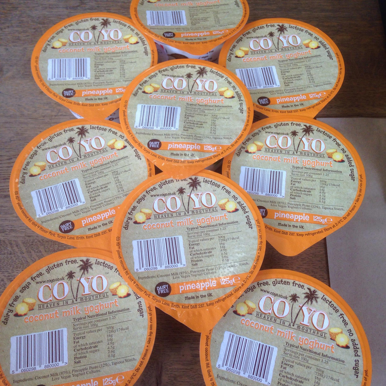 Coyo Pineapple Yogurt