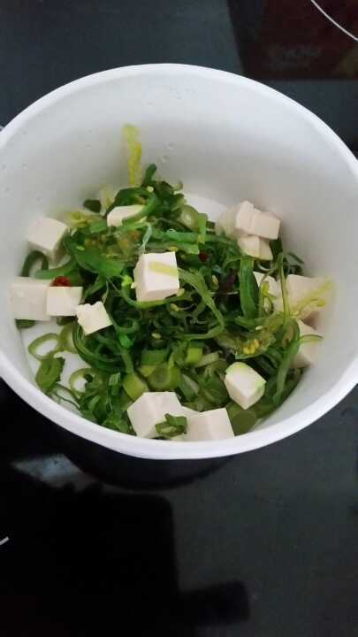 Miso soup base from Bento