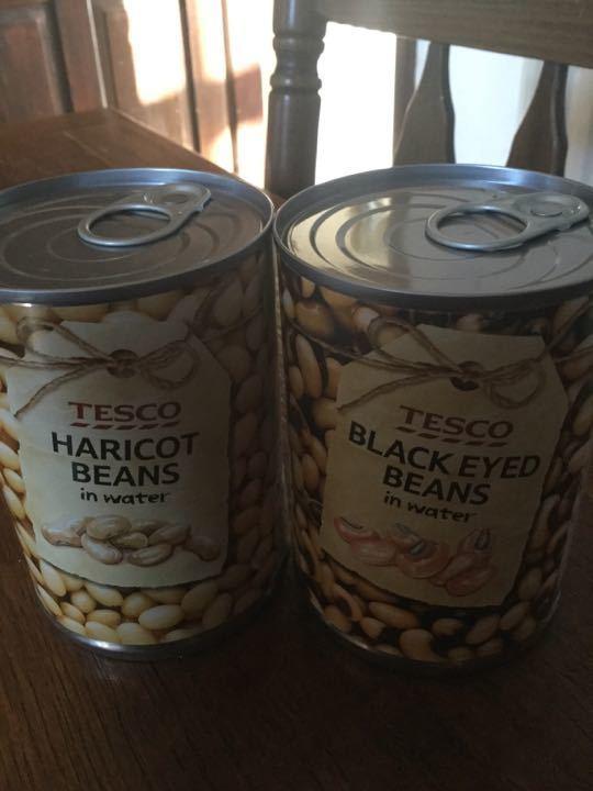 Tinned beans