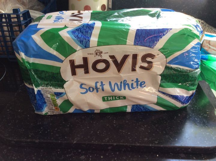 Hovis white thick sliced