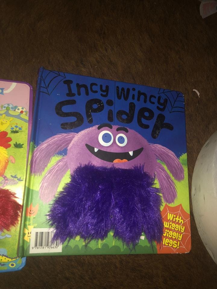 Inch wincy spider book