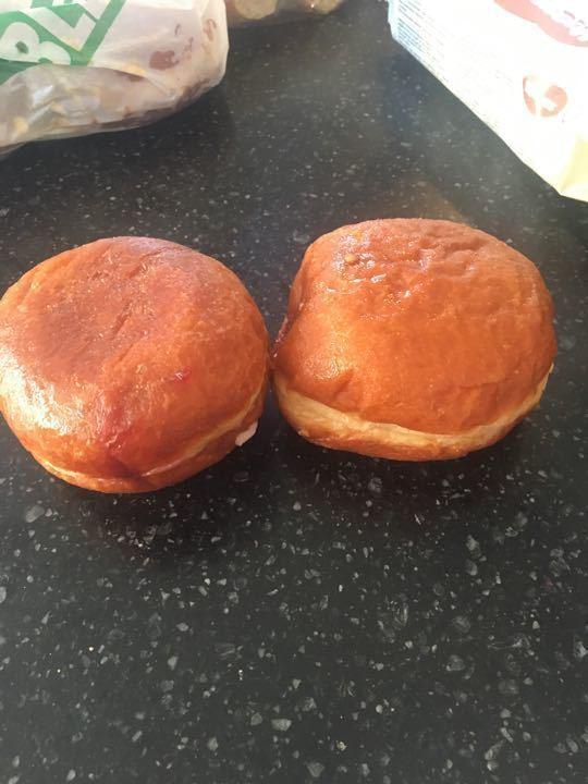 Jam donuts 2 per portion