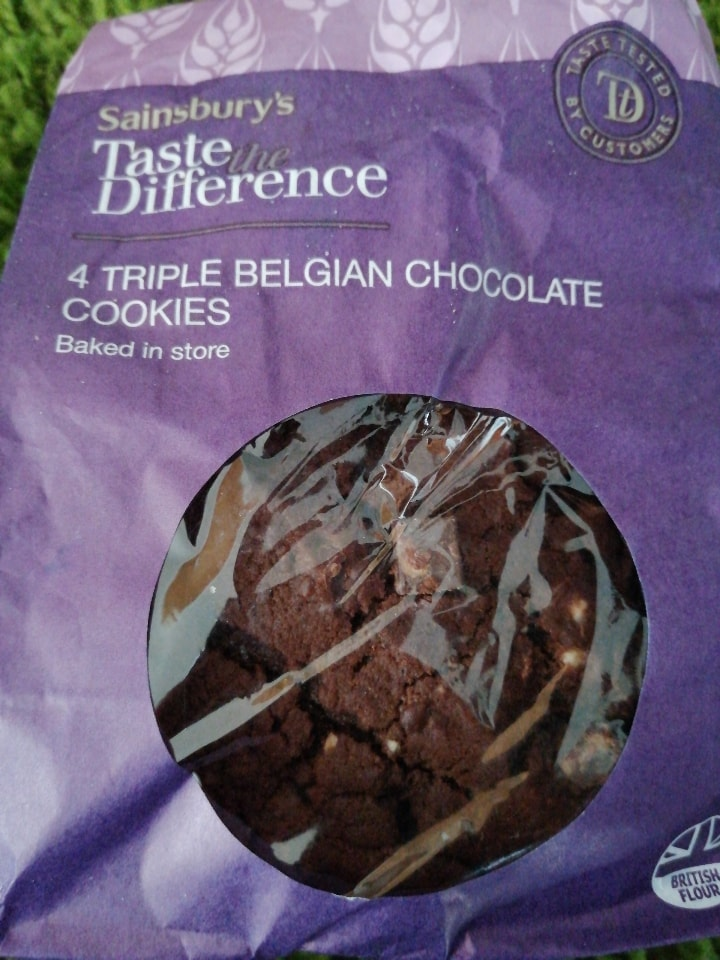 Triple belgian cookies.
