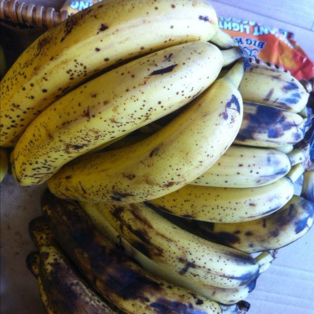 bananas (ripe)