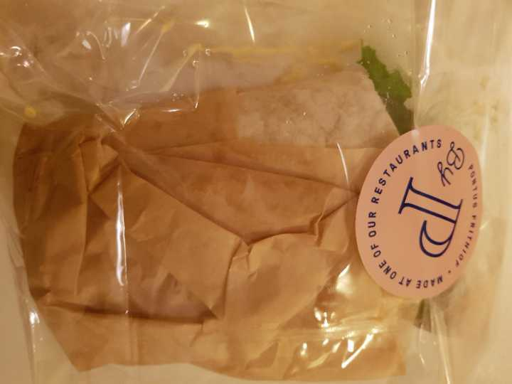 Wrap with chicken by Pontus
