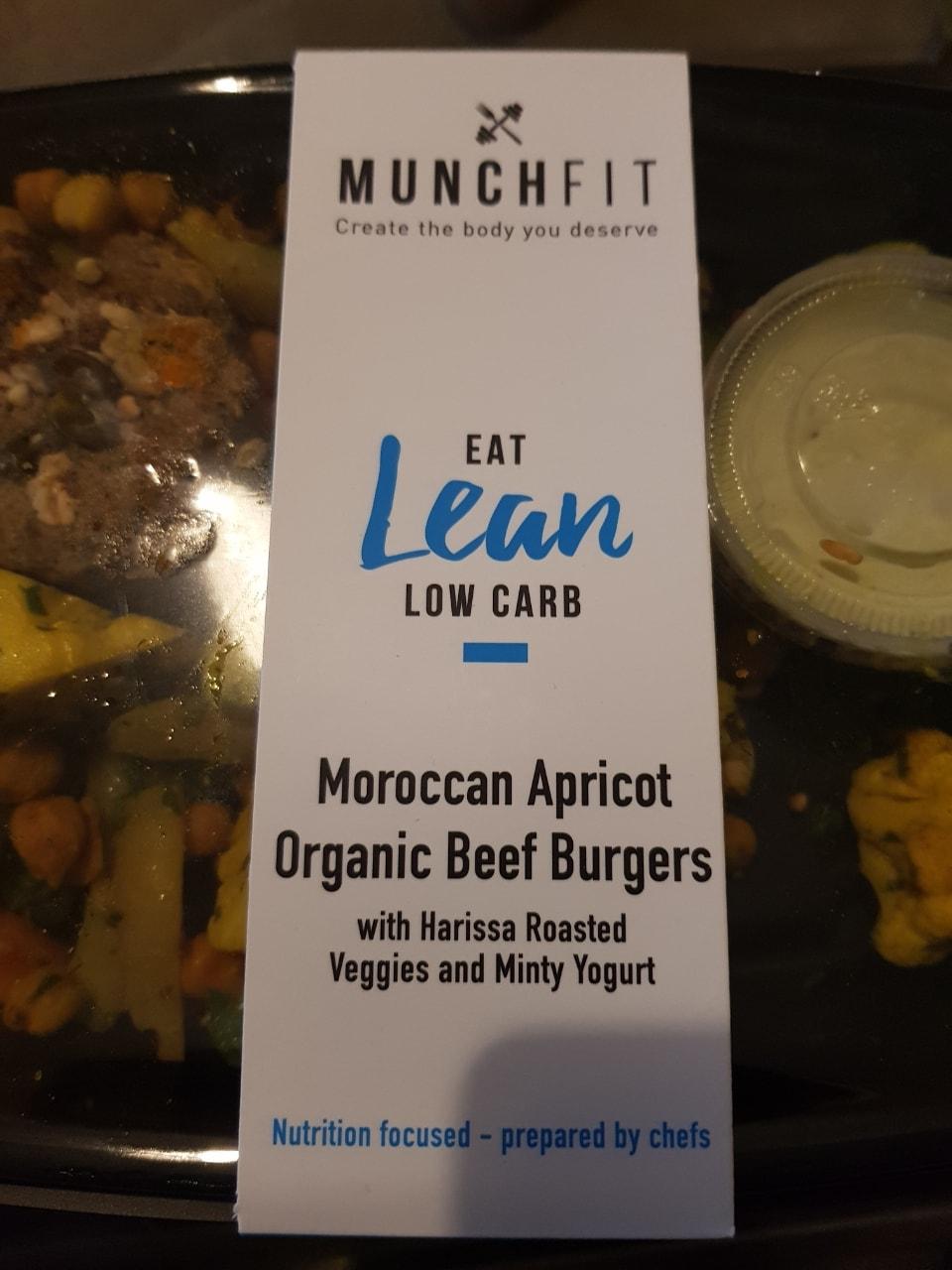 Planet Organic - beef burgers