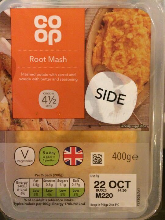 Root mash