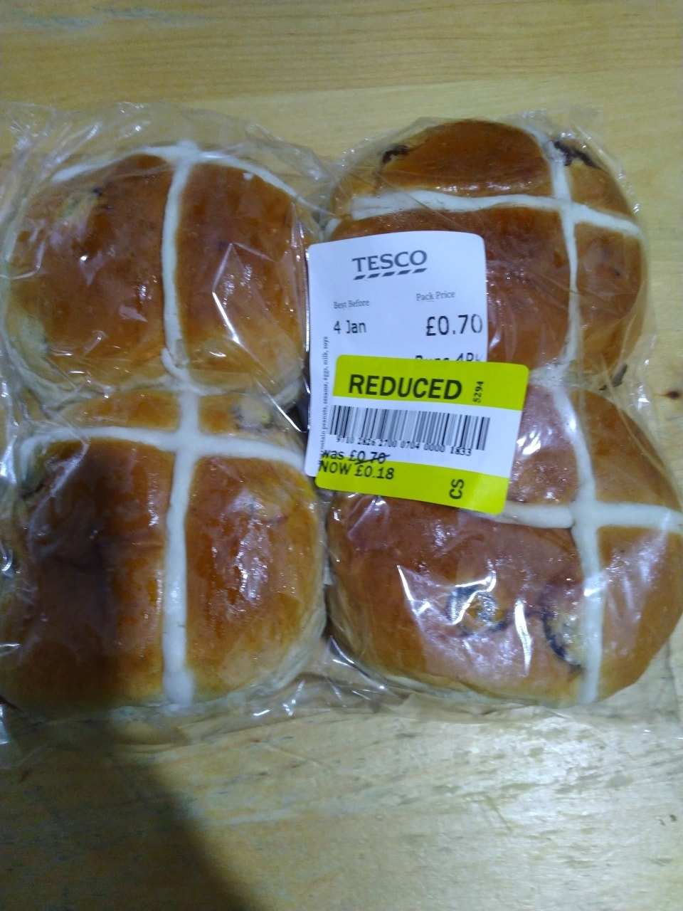 30 Hot cross buns (Ask as many as you want)