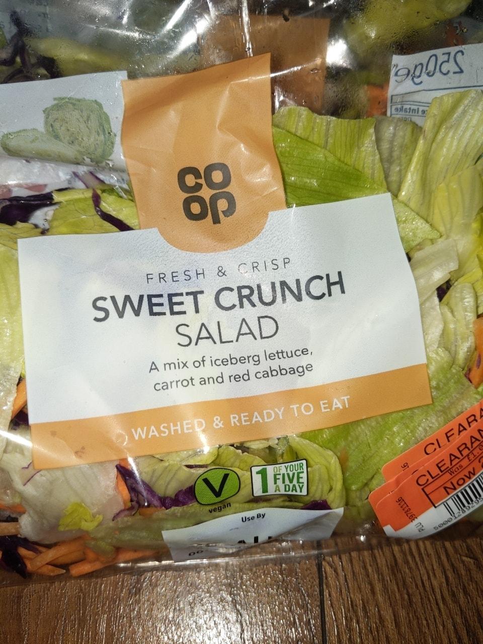 Sweet crunch salad