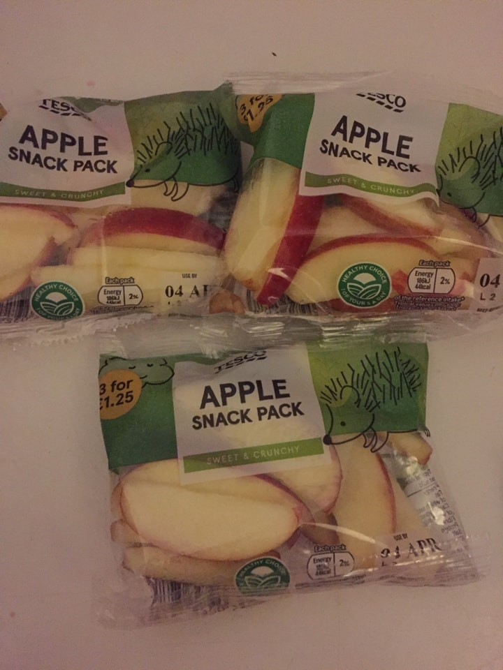 Apple snack pack