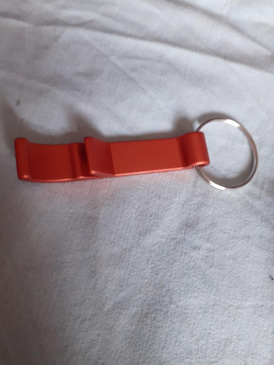 Bottle opener keyring
