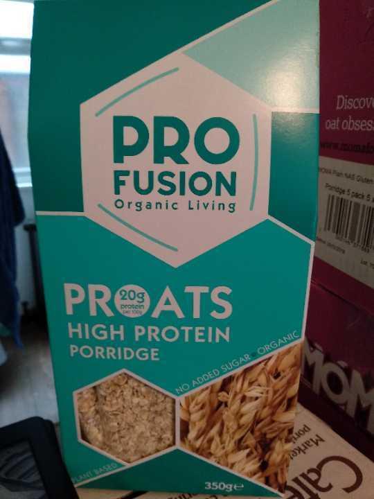 Pro Fusion PrOats High Protein Porridge